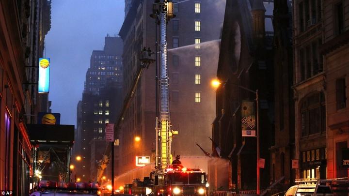 Ņujorkā nodegusi vēsturiska pareizticīgo baznīca