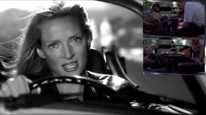 Autoavārijā cietusi izcilā aktrise Uma Tūrmane. Traģēdijas video