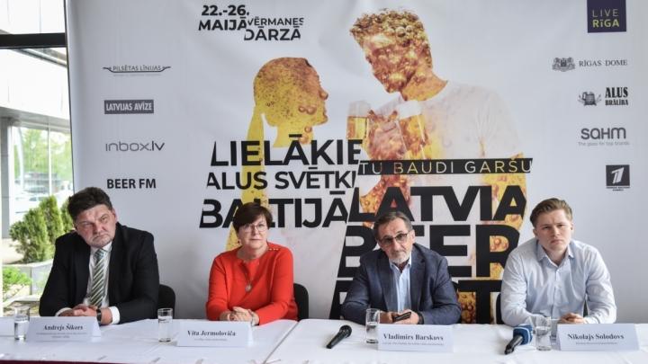 No 22. Līdz 26. maijam Vērmanes dārzā Rīgā norisināsies Baltijas vērienīgākie alus svētki Latviabeerfest 2019