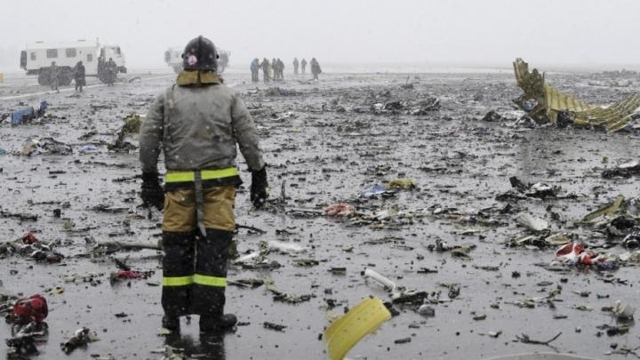 Dubaijas gaisa kuģim nogāžoties Krievijā, bojā gājuši visi 62 cilvēki