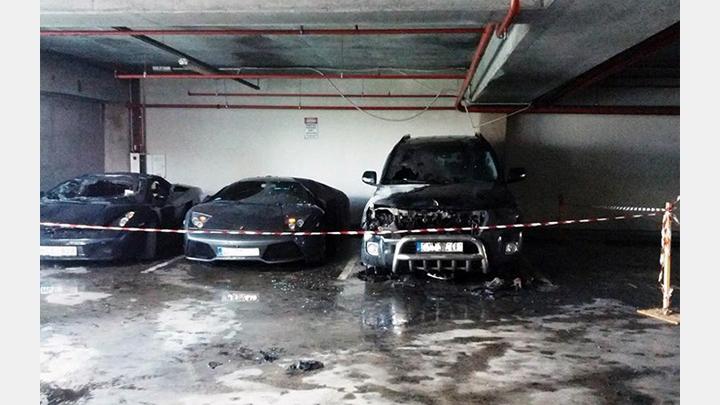 Izsludināta atlīdzība 10 000 Eur par Lamborghini dedzinātāju