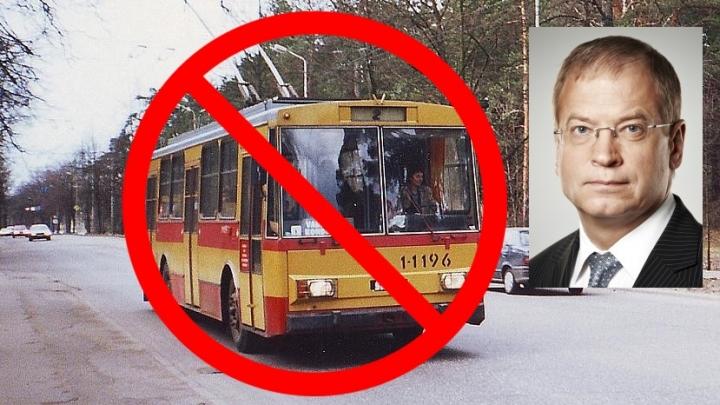 Andris Ameriks: Pēc 12 gadiem Rīgā trolejbusu nebūs!