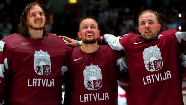 Varonis vārtsargs Kristers Gudļevskis! Ar fantastisku uzvaru Latvija uzsāk 2019.gada Pasaules čempionātu