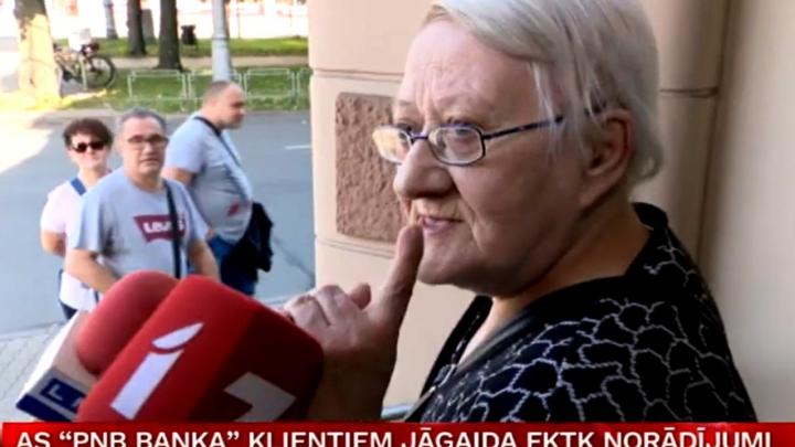 Kāpēc valsts tā ņirgājas? 15.datums - tikko algas un pensijas! Tieši tobrīd aizslēdz Norvik banku iedzenot šokā seniorus