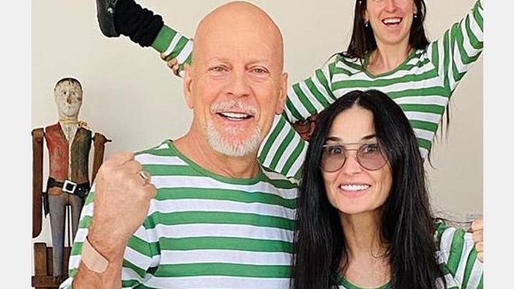 SHOCKING: The woman Bruce Willis is spending self-isolation with is not his wife! PHOTO