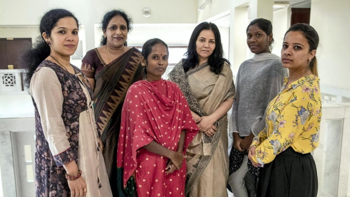 Photo: Maid's life in India. The coronavirus left millions of workers out of work