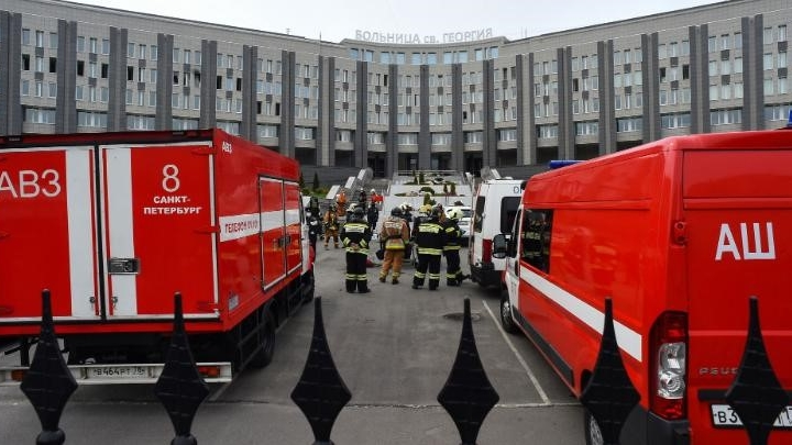 A fire in a hospital treating coronavirus patients in Russia claimed the lives of five patients and forced the evacuation of 150 people