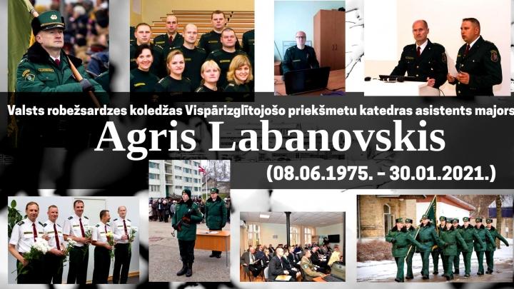 45 gadu vecumā ar COVID-19 mūžībā aizsaukts robežsardzes virsnieks Agris Labanovskis