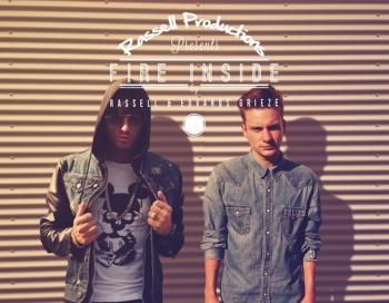 Rassell un Edvards Grieze prezentē savu jauno dziesmu Fire Inside
