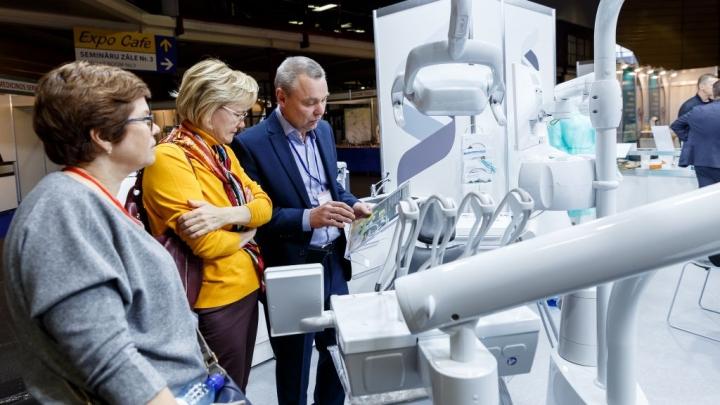 Virtuālā realitāte rehabilitācijai un citas aktualitātes izstādē Medbaltica 2021 Ķīpsalā