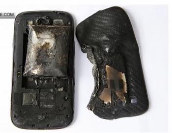Latvijā uzsprāgst mobilais telefons