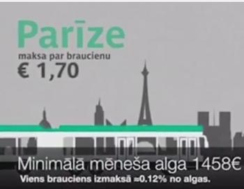 Dramatiski riebīgā patiesība pret cilvēkiem par sabiedriskā transporta cenām Rīgā