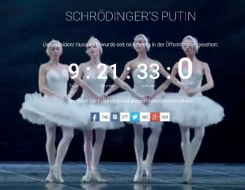 Kabajevai piedzimis bērns; Putins asprātīgā veidā nozudis 9 dienas, 21 stundu, 33 minūtes