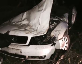Šaušalīgā piedzērušos jauniešu avārija Jēkabpilī FOTO/VIDEO