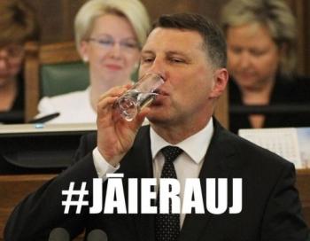 Nākamā Latvijas Valsts prezidenta spārnotais teiciens nostabilizējas tautas sarunvalodā