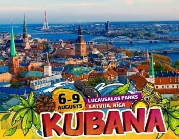 Festivāls Kubana norisināsies Lucavsalas dienvidu daļā