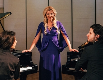 Trīs džentlmeņi un dīva: Osokinu dinastijas pianisti un Agnese Zeltiņa