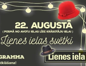 Rīgā pirmo reizi notiks Lienes ielas svētki