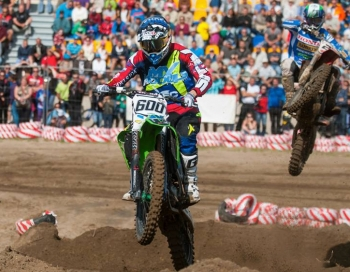 Dāvis Ivanovs un Ivo Šteinbergs debitēs motokrosa sacensībās Arenacross Baltic Cup
