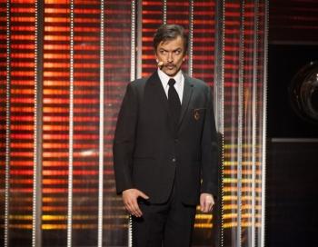 Ar spožu izcilā aktiera Romualda Ancāna šovu Izklausies redzēts uzvar Kristaps Rasims