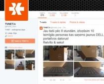 Viltvārdis Tviterī izliekas par Tvnet un cenšas izkrāpt bankas datus