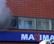 Maximā pusstundu dūmu smaka, bet evakuācija nenotiek