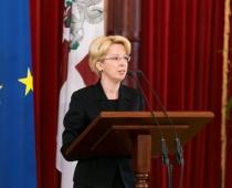 Saeimas priekšsēdētāja Ināra Mūrniece: izsūtījuma stāsti ir arī manas dzimtas stāsti